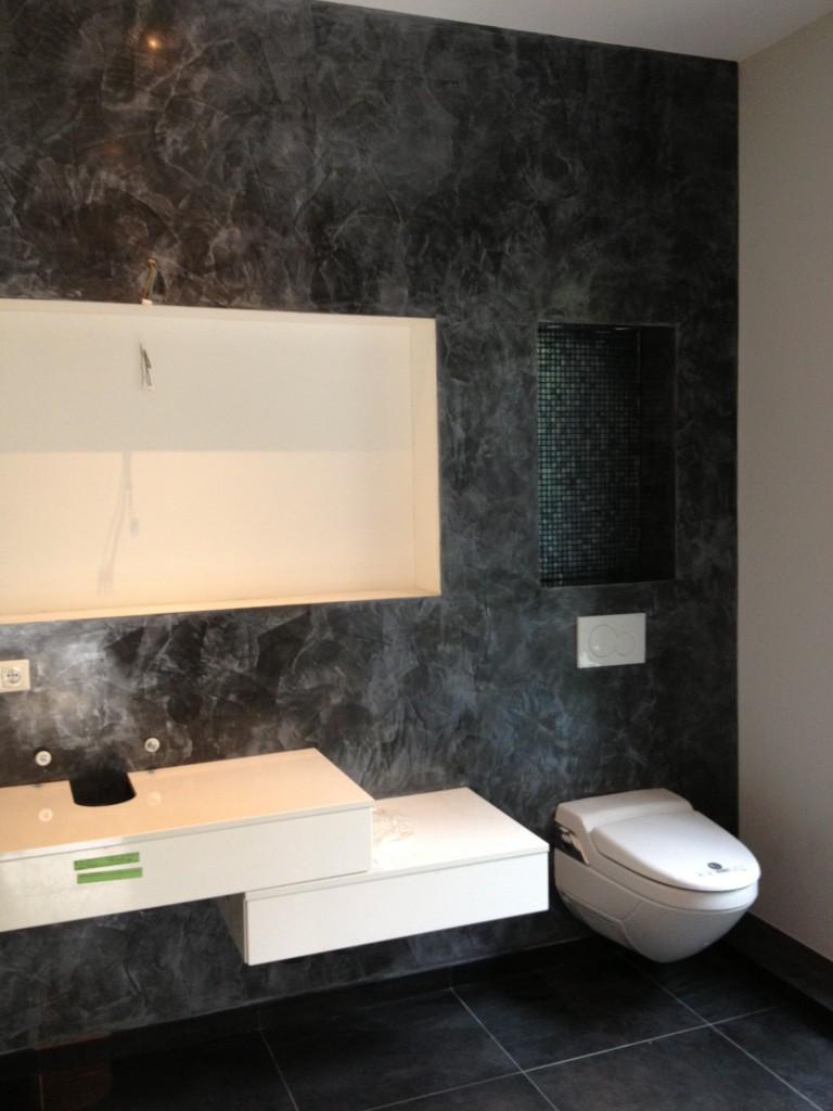 Badezimmer ber fliesen verputzen haus design und m bel for Badezimmer verputzen